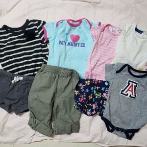 Bundle of Newborn-24 months clothing